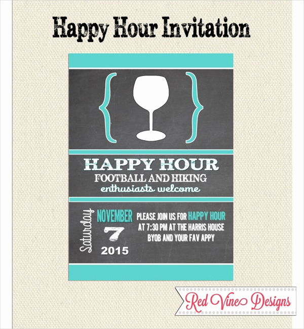 Happy Hour Invitation Wording Inspirational 14 Happy Hour Invitation Designs & Templates Psd Ai