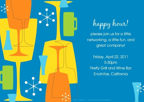 Happy Hour Invitation Wording New Happy Hour Invitation Wording Cobypic