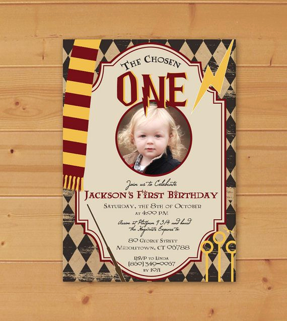 Harry Potter Birthday Invitation Awesome 25 Best Ideas About Harry Potter Invitations On Pinterest
