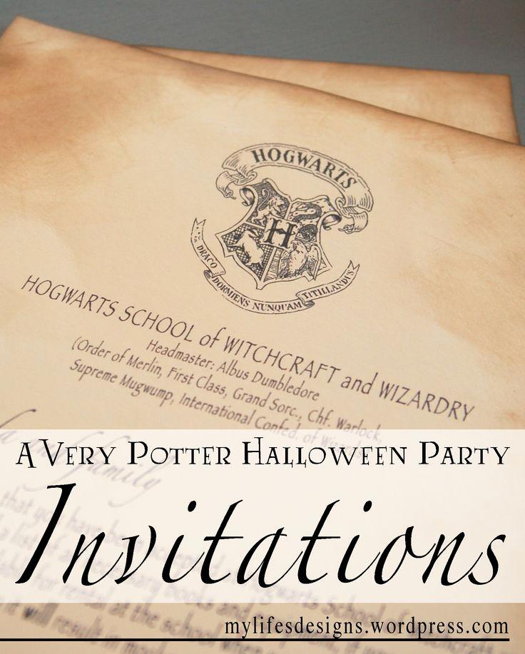 Harry Potter Birthday Invitation Best Of Best 25 Harry Potter Letter Ideas On Pinterest