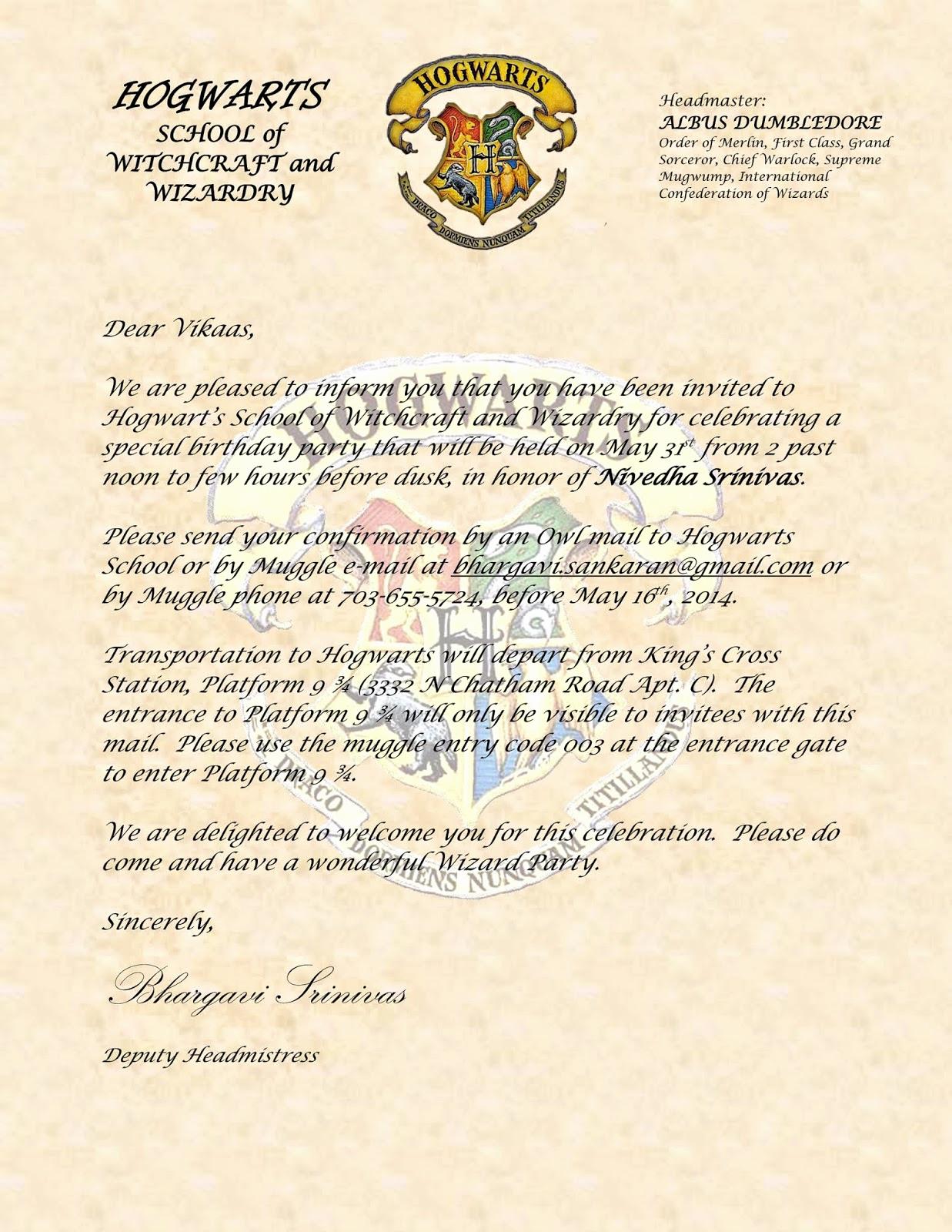 Harry Potter Birthday Invitation Fresh Sbnv Our World Harry Potter Birthday Party