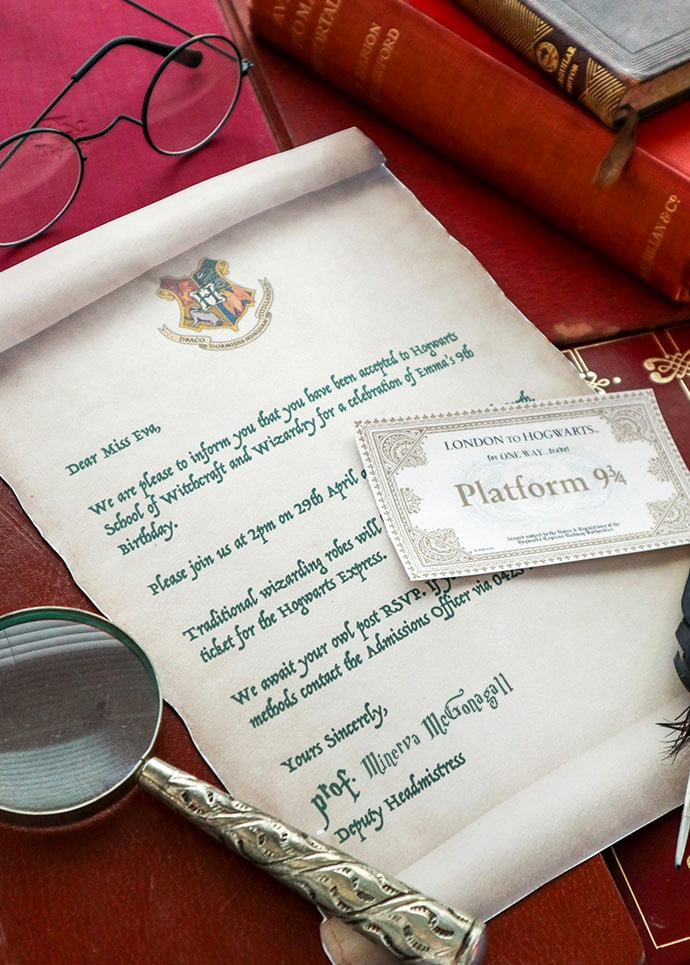 Harry Potter Birthday Invitation Template Best Of Harry Potter Party Invitation Template Hogwarts