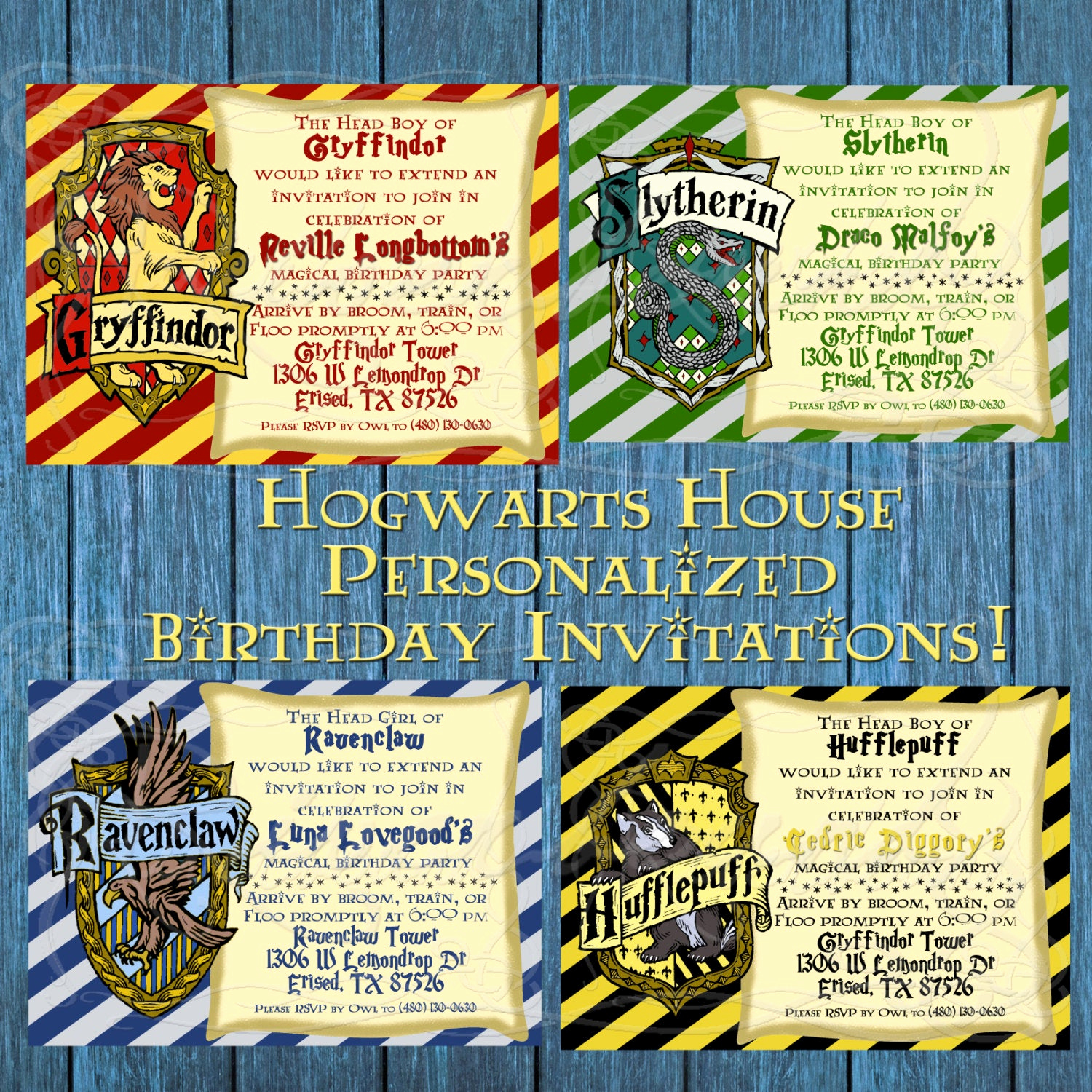 Harry Potter Birthday Invitation Wording Awesome Printable Birthday Invitation Harry Potter by