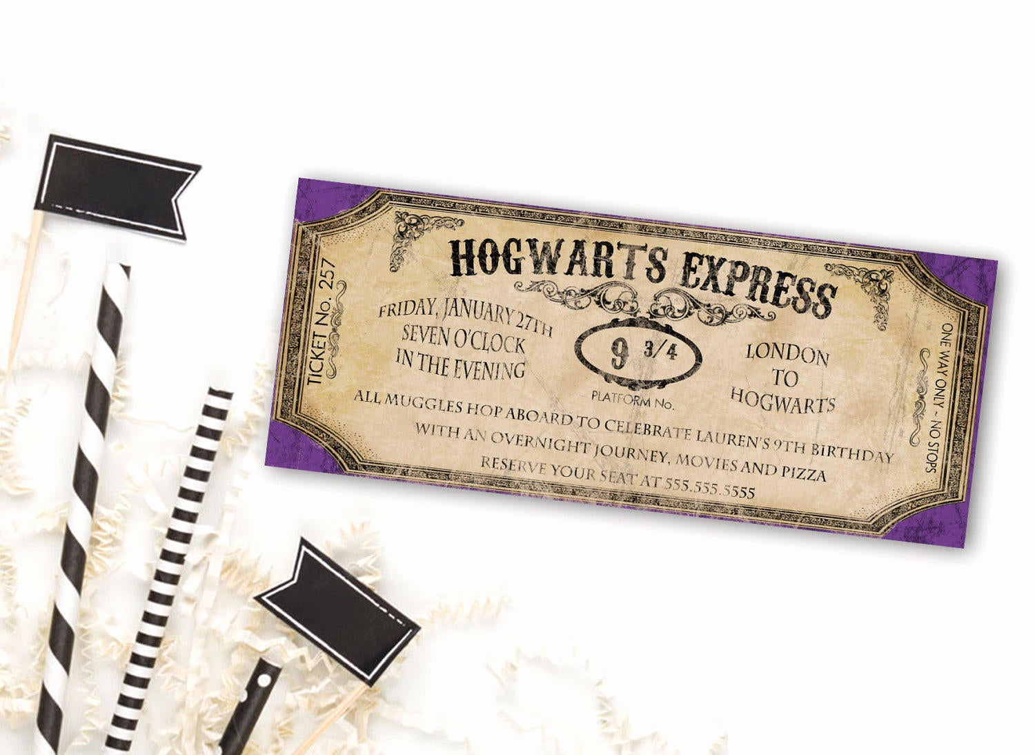 Harry Potter Birthday Invitation Wording Luxury Harry Potter Birthday Invitation Harry Potter Invitation