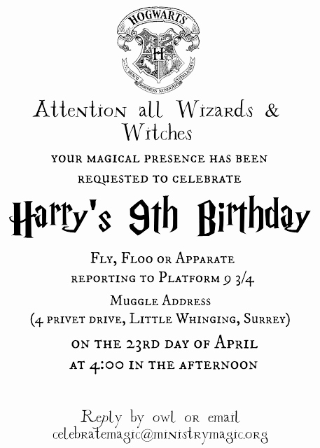 Harry Potter Birthday Invitation Wording New Tattered and Inked Harry Potter Party Free Printables and