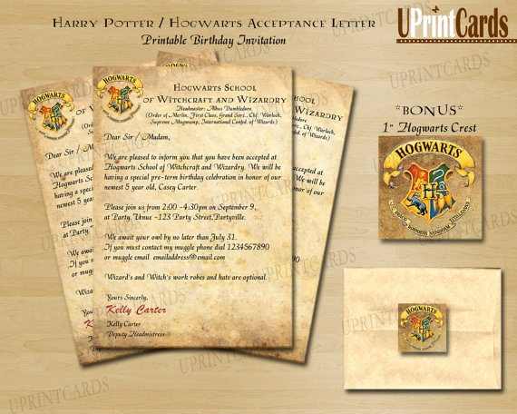 Harry Potter Hogwarts Invitation Elegant 17 Best Images About Our Hp Inspired Wedding On Pinterest