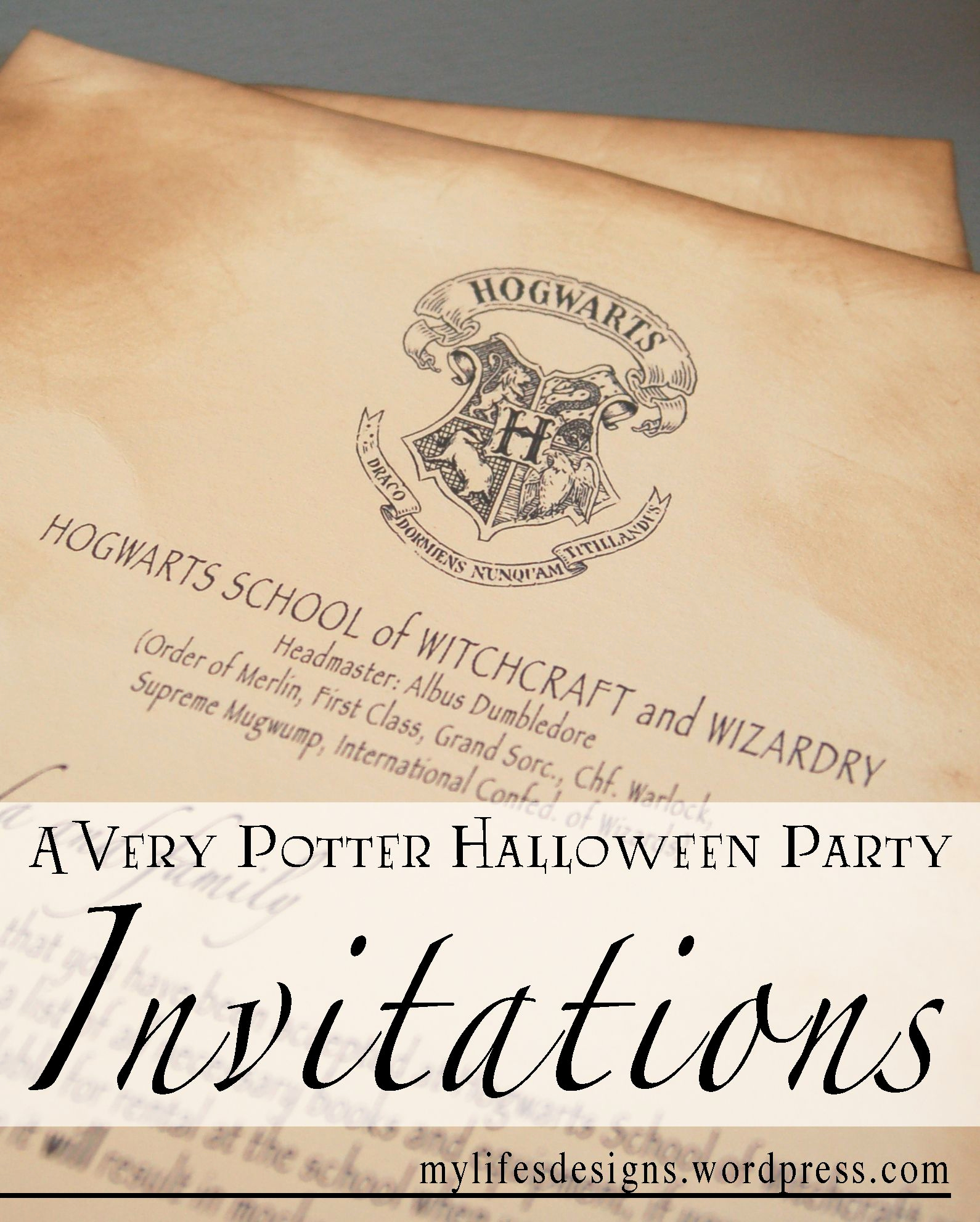 Harry Potter Invitation Ideas Inspirational Free S to Create Your Own Harry Potter Party