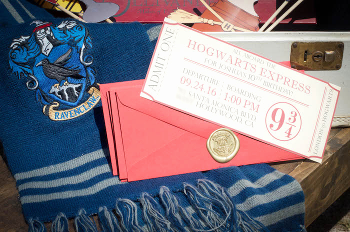 Harry Potter Invitation Ideas Luxury Kara S Party Ideas Outdoor Harry Potter Birthday Party