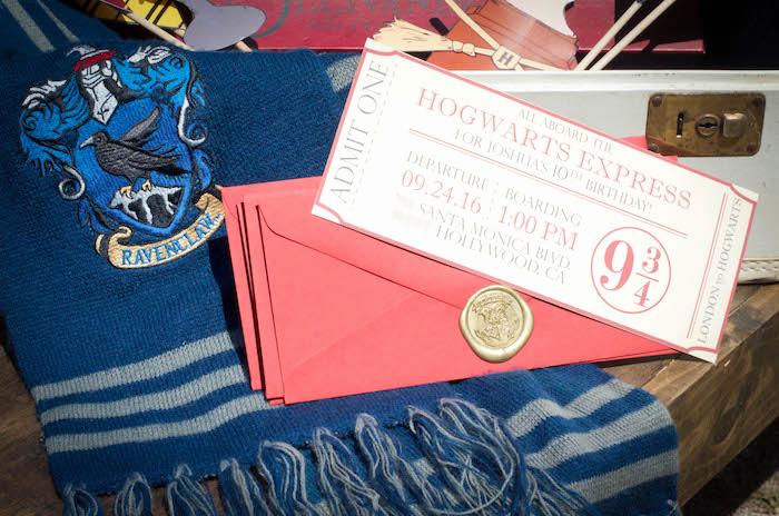 Harry Potter Invitation Ideas Luxury Kara S Party Ideas Outdoor Harry Potter Birthday Party