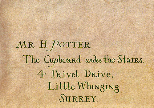 Harry Potter Invitation Letter Elegant Bleatings Of An Interplanetary Goat Harry Potter and the