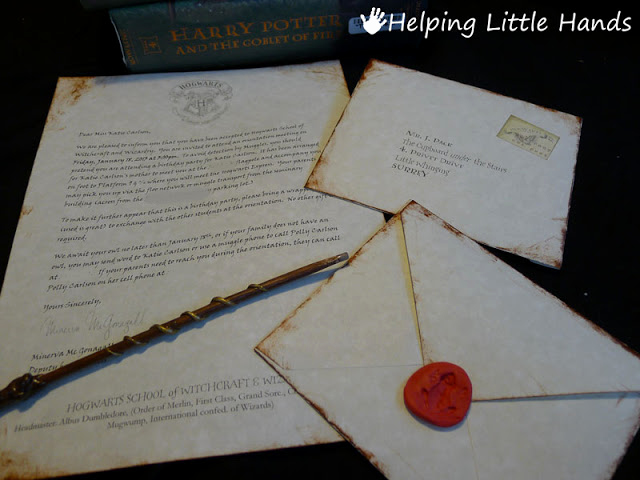 Harry Potter Invitation Letter Elegant Pieces by Polly Printable Hogwarts Acceptance Letters or