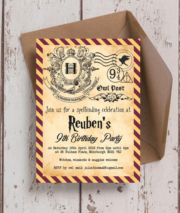 Harry Potter Invitation Template Free Fresh 3218 Best Free Printable Invitation Templates Bagvania