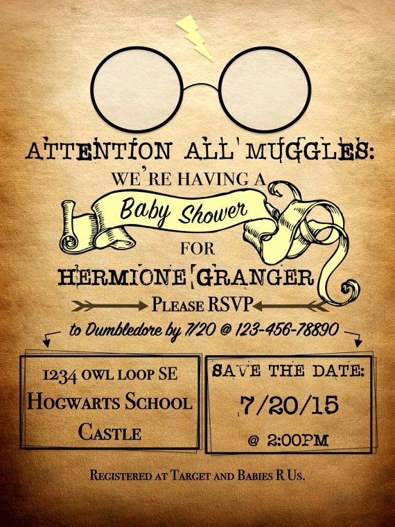 Harry Potter Invitation Template Inspirational Harry Potter Invitations On Pinterest 100 Inspiring