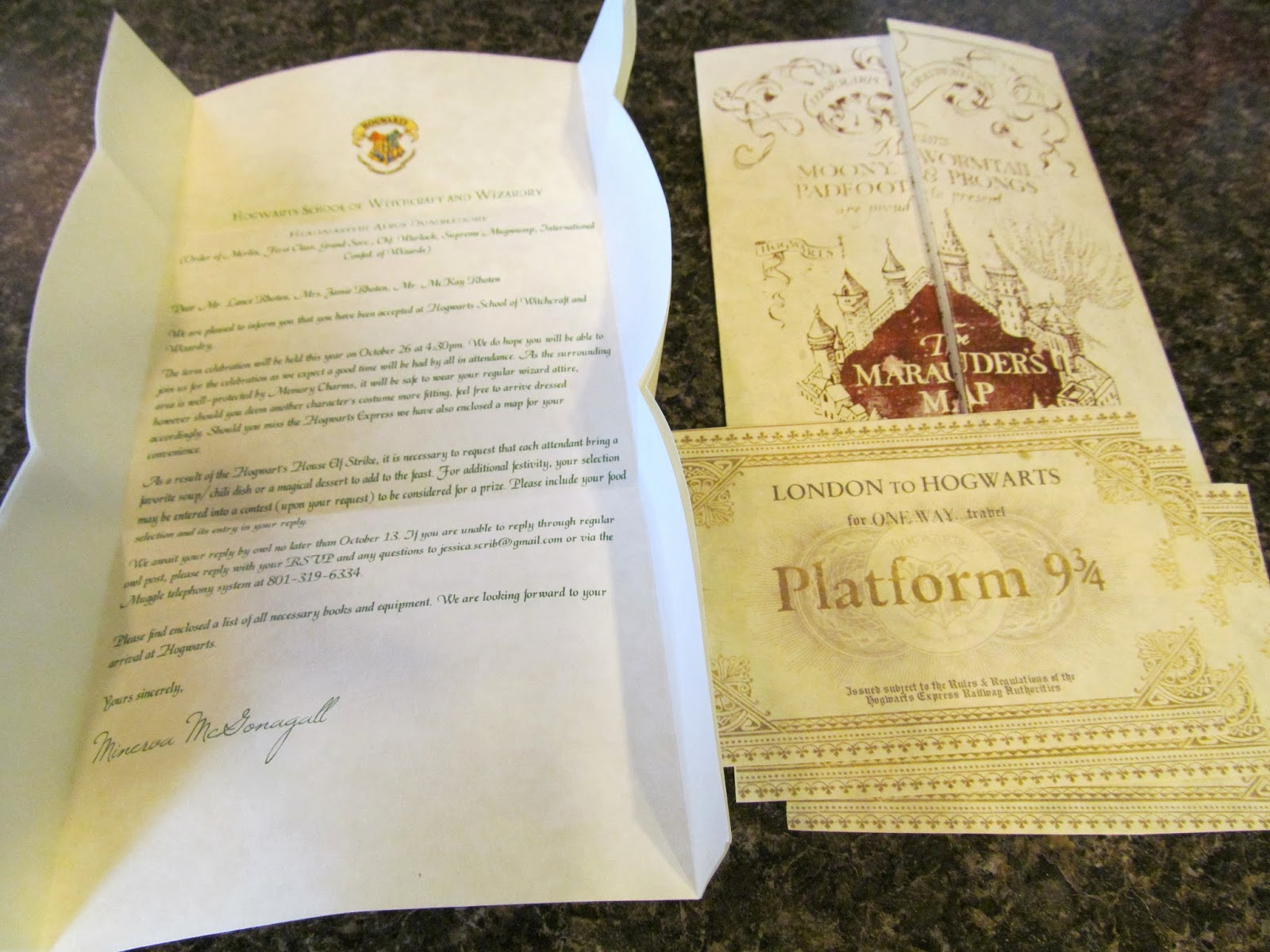 Harry Potter Invitation to Hogwarts Fresh A Little Bit Of Everything Harry Potter Halloween Party
