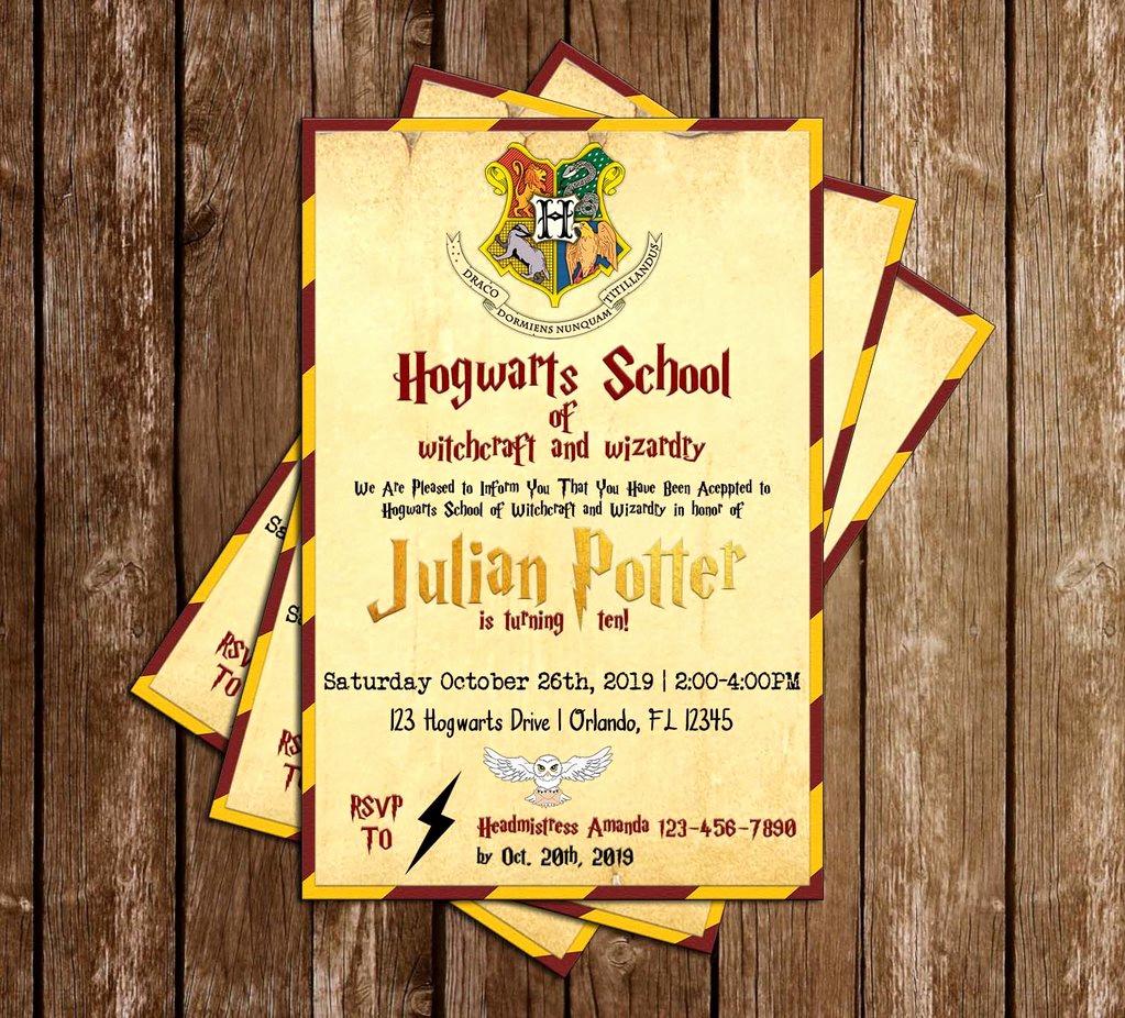Harry Potter Invitation to Hogwarts Lovely Novel Concept Designs Harry Potter Gryffindor