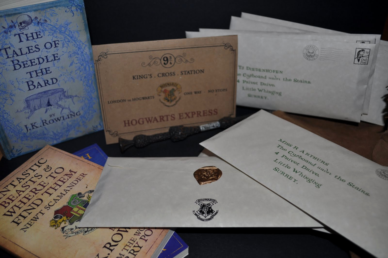 Harry Potter Invitation to Hogwarts New Serendipity soiree Paperie event Styling Design Sneak