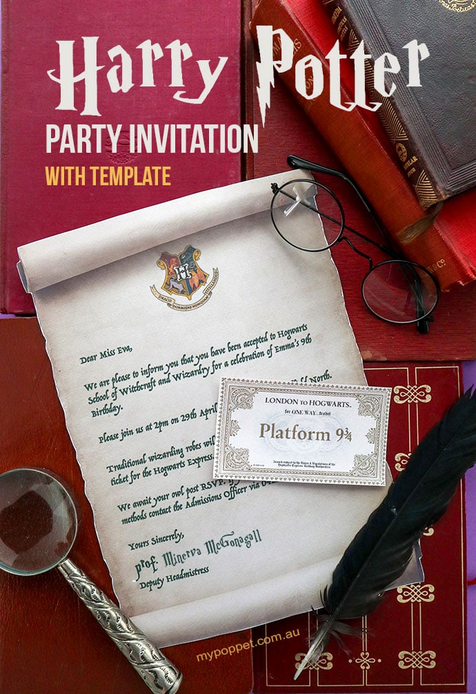 Harry Potter Party Invitation Template Inspirational Harry Potter Party Invitation Template Hogwarts