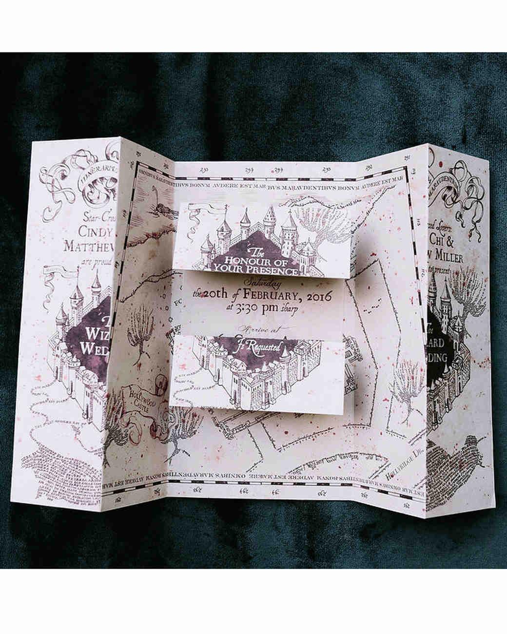 "Harry Potter Wedding Invitation Elegant A Moody Magical ""harry Potter"" themed Wedding"