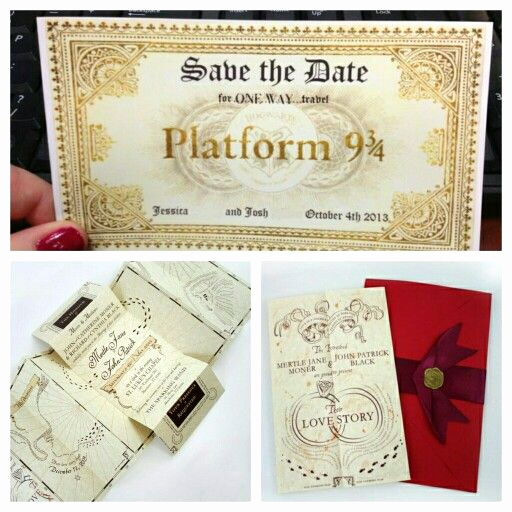 Harry Potter Wedding Invitation Fresh 84 Best Images About My Harry Potter Handfasting Board On