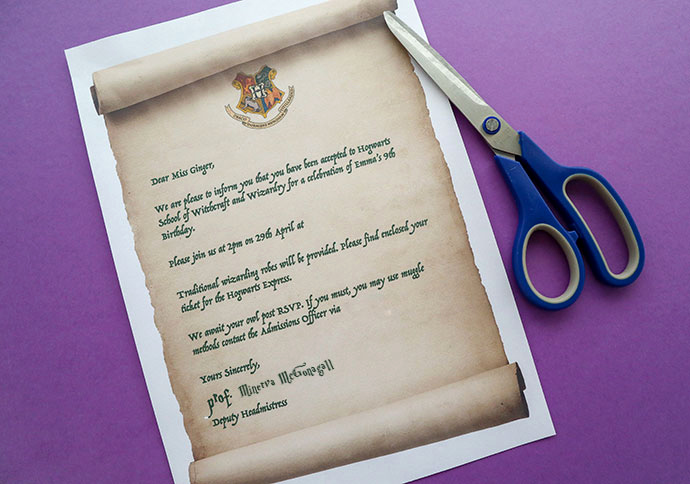 Harry Potter Wedding Invitation Templates Beautiful Harry Potter Party Invitation Template Hogwarts