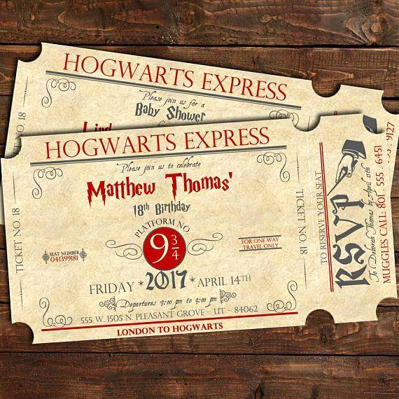 Harry Potter Wedding Invitation Templates Lovely Best 25 Harry Potter Invitations Ideas On Pinterest