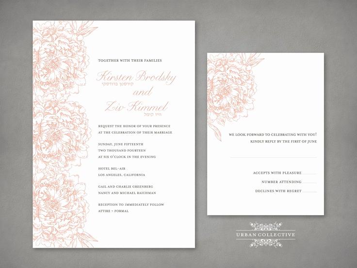 Hebrew Wedding Invitation Wording Fresh Best 20 Jewish Weddings Ideas On Pinterest