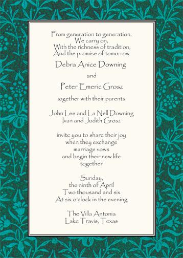 Hebrew Wedding Invitation Wording New Jewish Wedding Invitation
