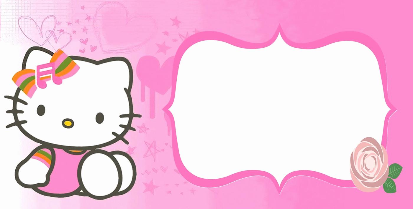 Hello Kitty Birthday Invitation Best Of Hello Kitty Free Printable Invitation Templates