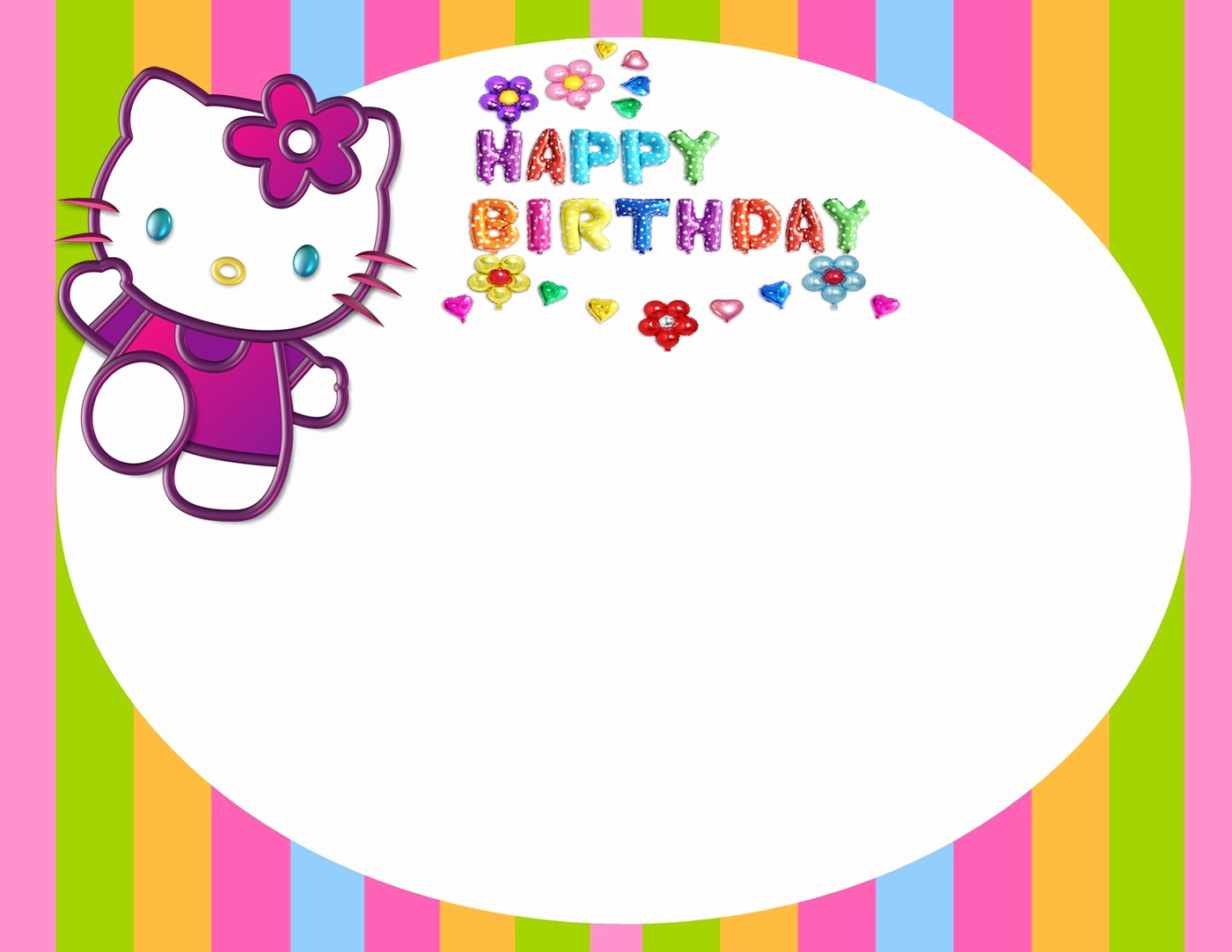 Hello Kitty Birthday Invitation Fresh Hello Kitty Free Printable Invitation Templates