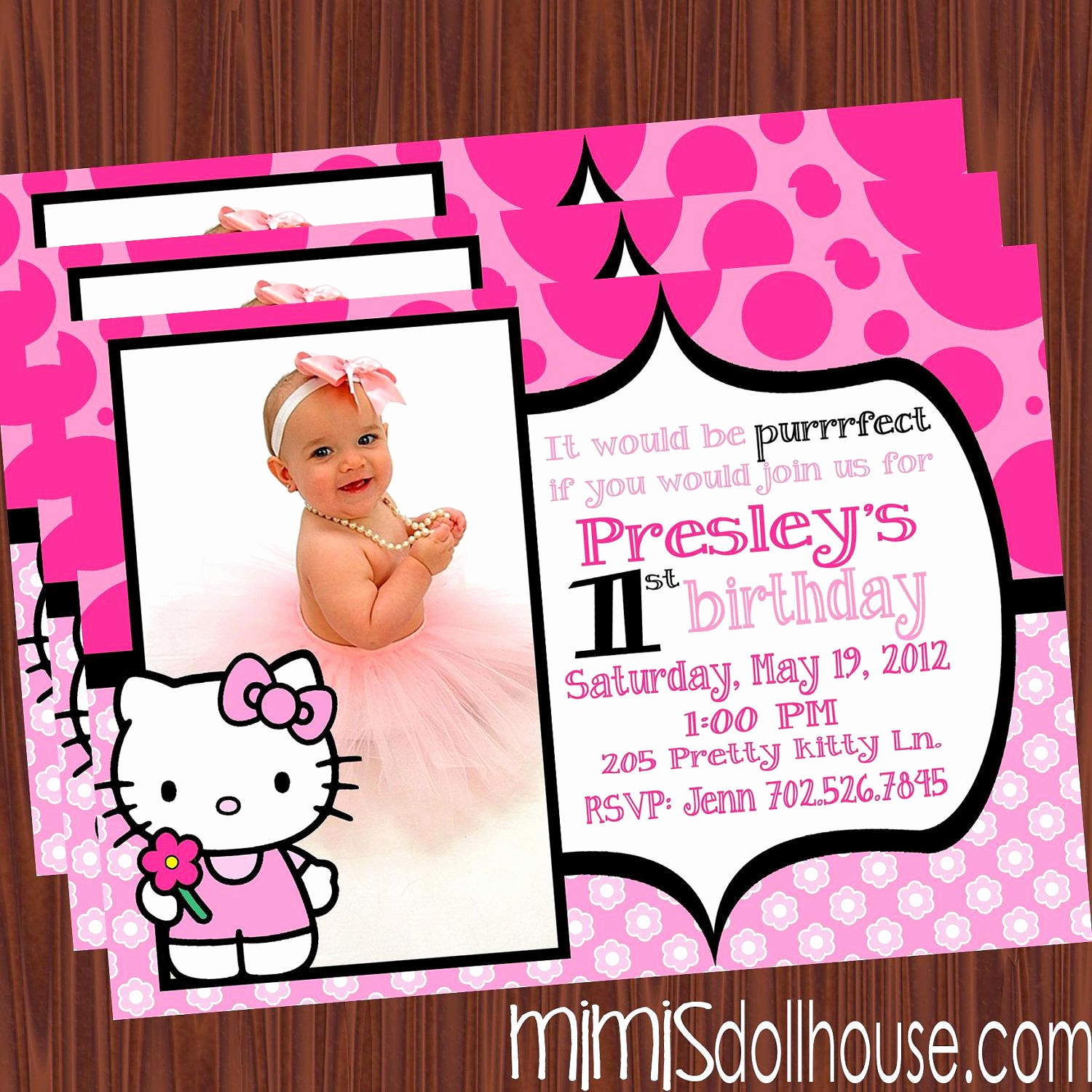 Hello Kitty Birthday Invitation New Pin by Paula Reyes On Party Planning