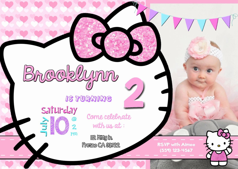 Hello Kitty Invitation Templates New Hello Kitty Background for Invitation
