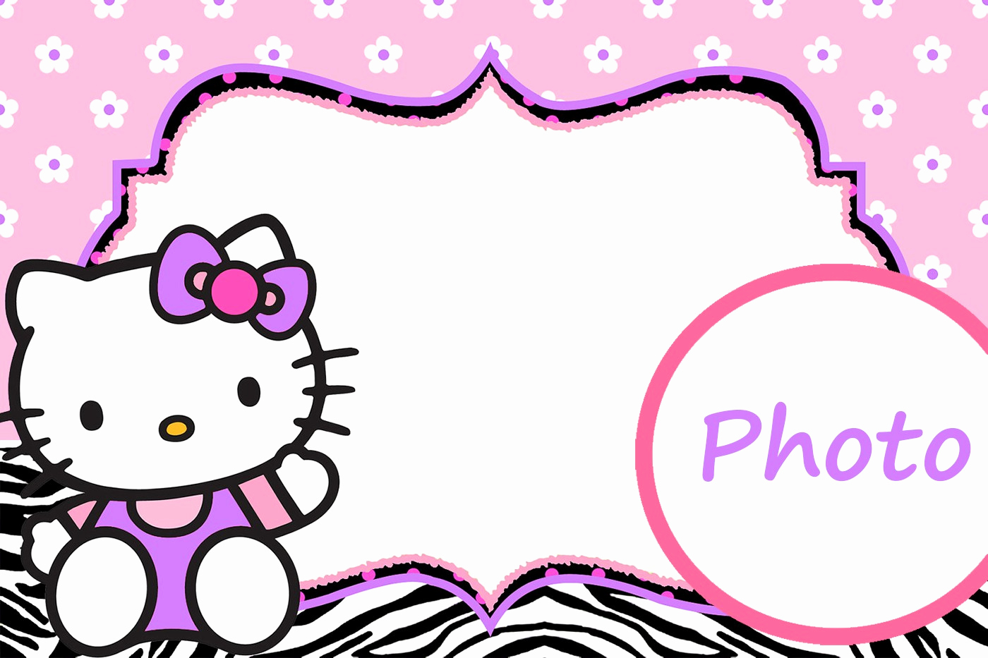 Hello Kitty Printable Invitation Best Of Hello Kitty Free Printable Invitation Templates