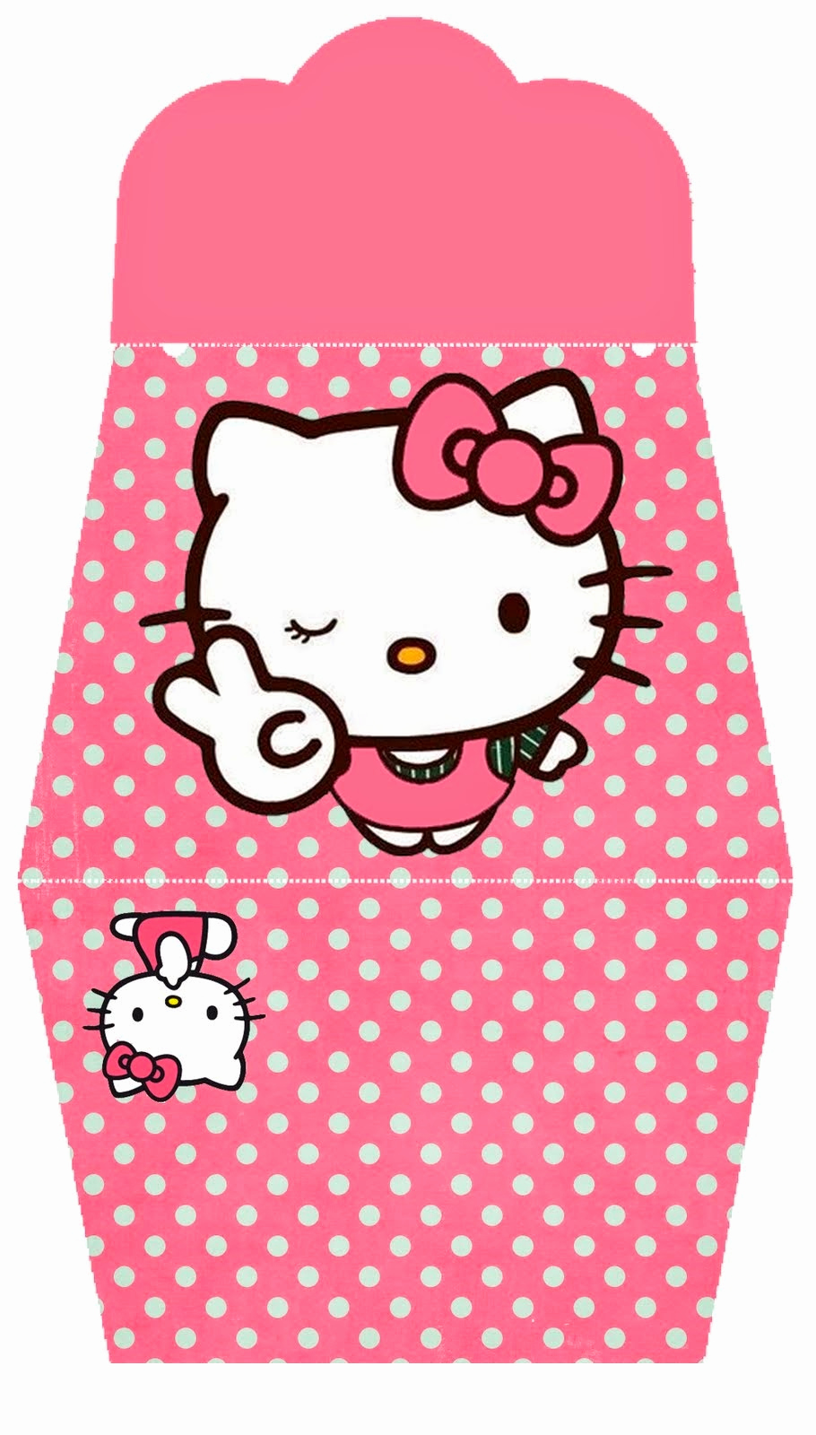 Hello Kitty Printable Invitation Fresh Hello Kitty In Pink Free Printable Purse Invitations