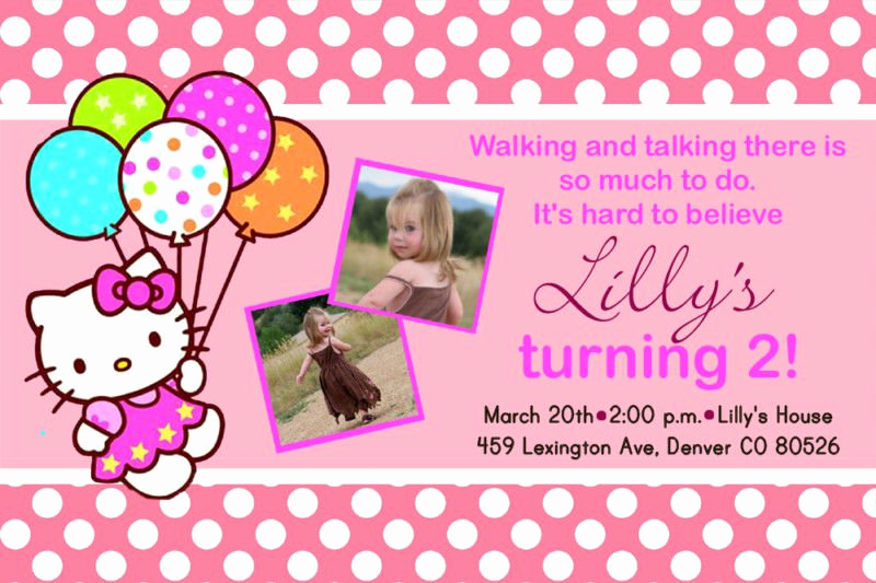 Hello Kitty Printable Invitation New Printable Hello Kitty Invitations Free