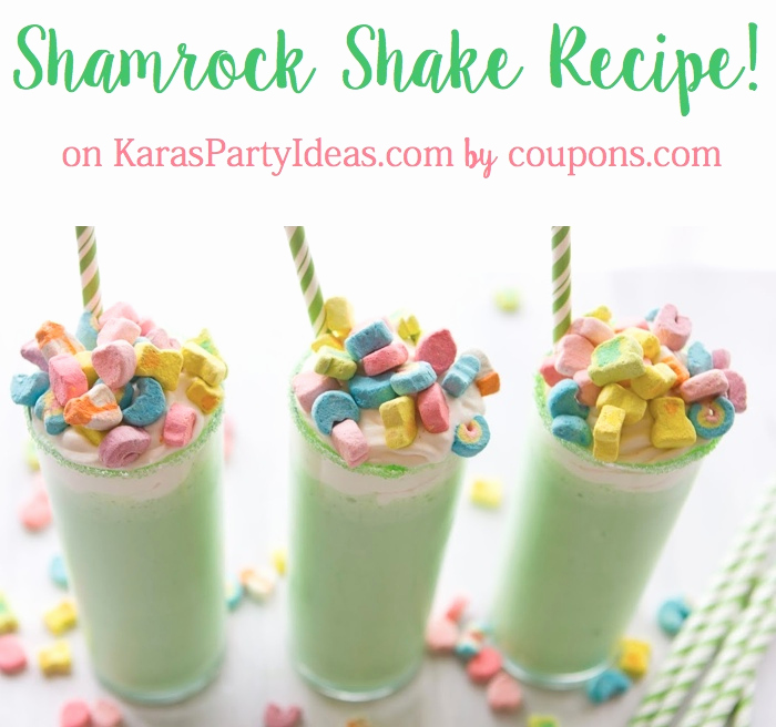 Herbalife Shake Party Invitation Best Of Kara S Party Ideas Easy Lucky Shamrock Shake Recipe