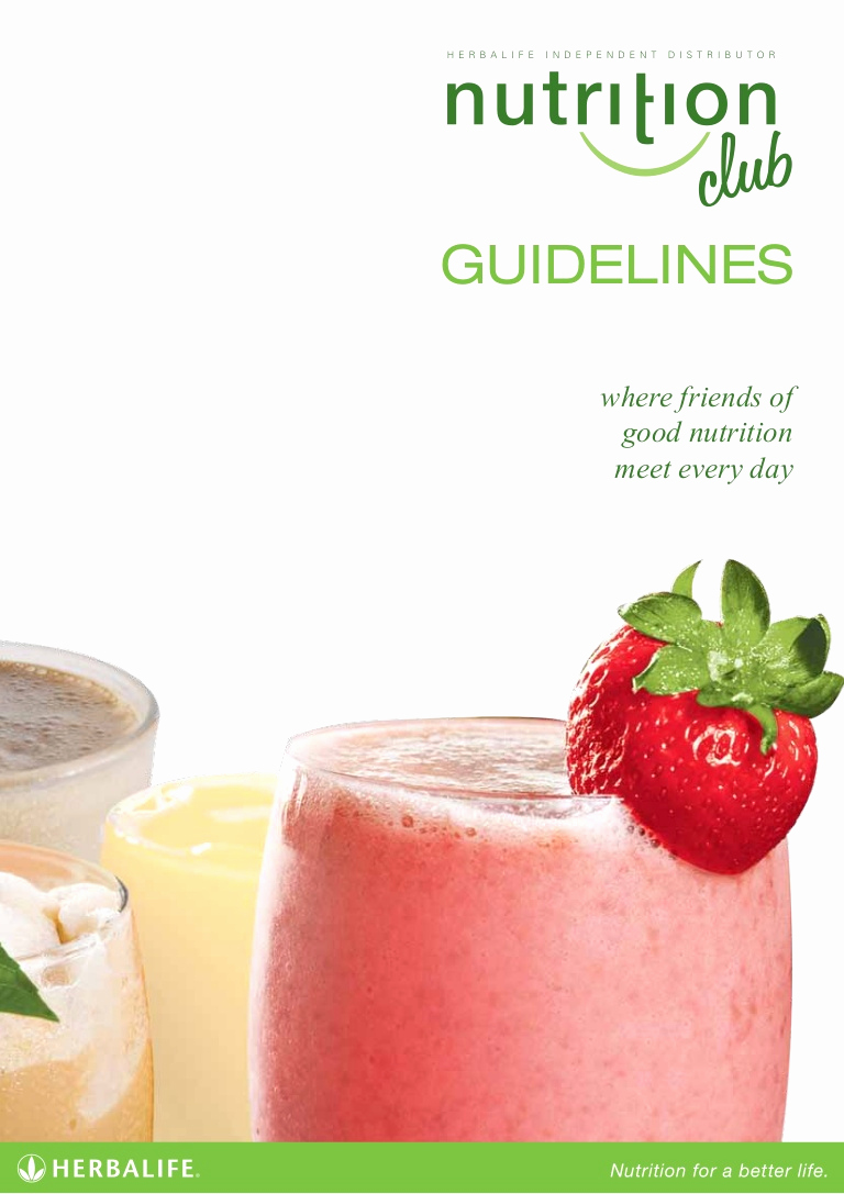 Herbalife Shake Party Invitation Best Of Nutrition Club Guidelines