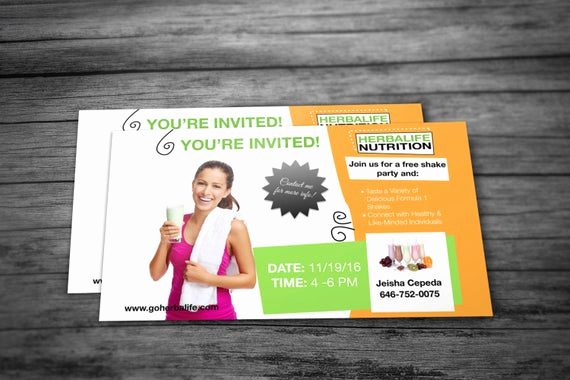 Herbalife Shake Party Invitation Elegant Custom Shake Party Invite by Kellylynnettedesigns On Etsy