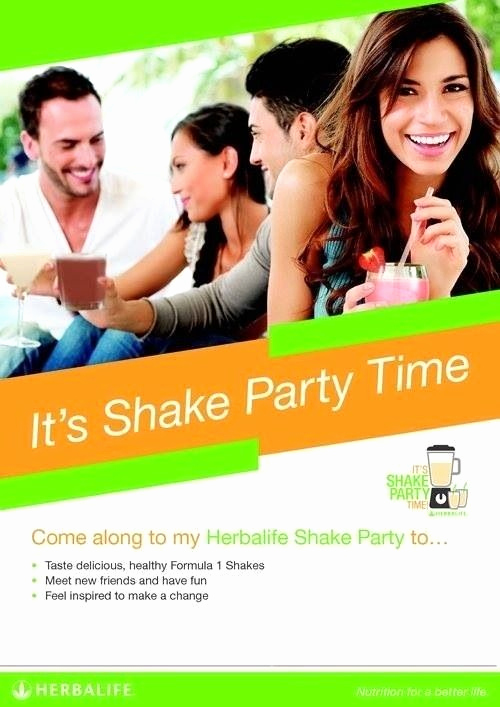Herbalife Shake Party Invitation Inspirational 17 Best Images About Herbalife On Pinterest