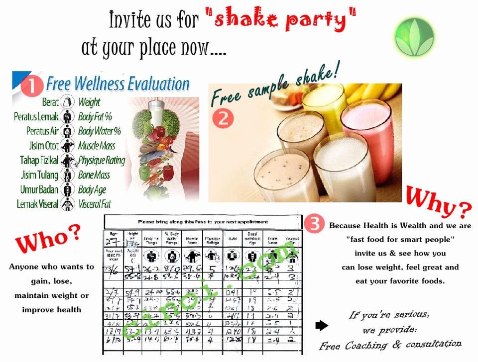Herbalife Shake Party Invitation Luxury Coach Fariha Saibani Herbalife Coach Malaysia You Can