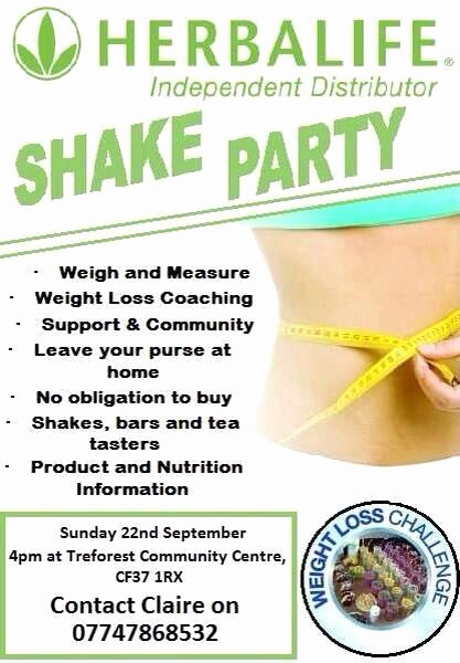 Herbalife Shake Party Invitation Luxury Herbalife Pontypridd Pontypriddherba