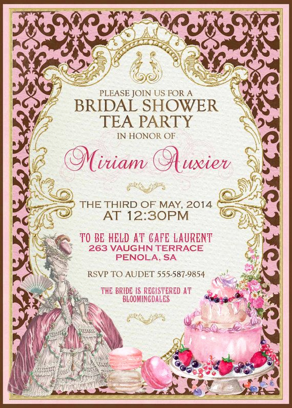 Hi Tea Invitation Templates Luxury 1000 Ideas About High Tea Invitations On Pinterest