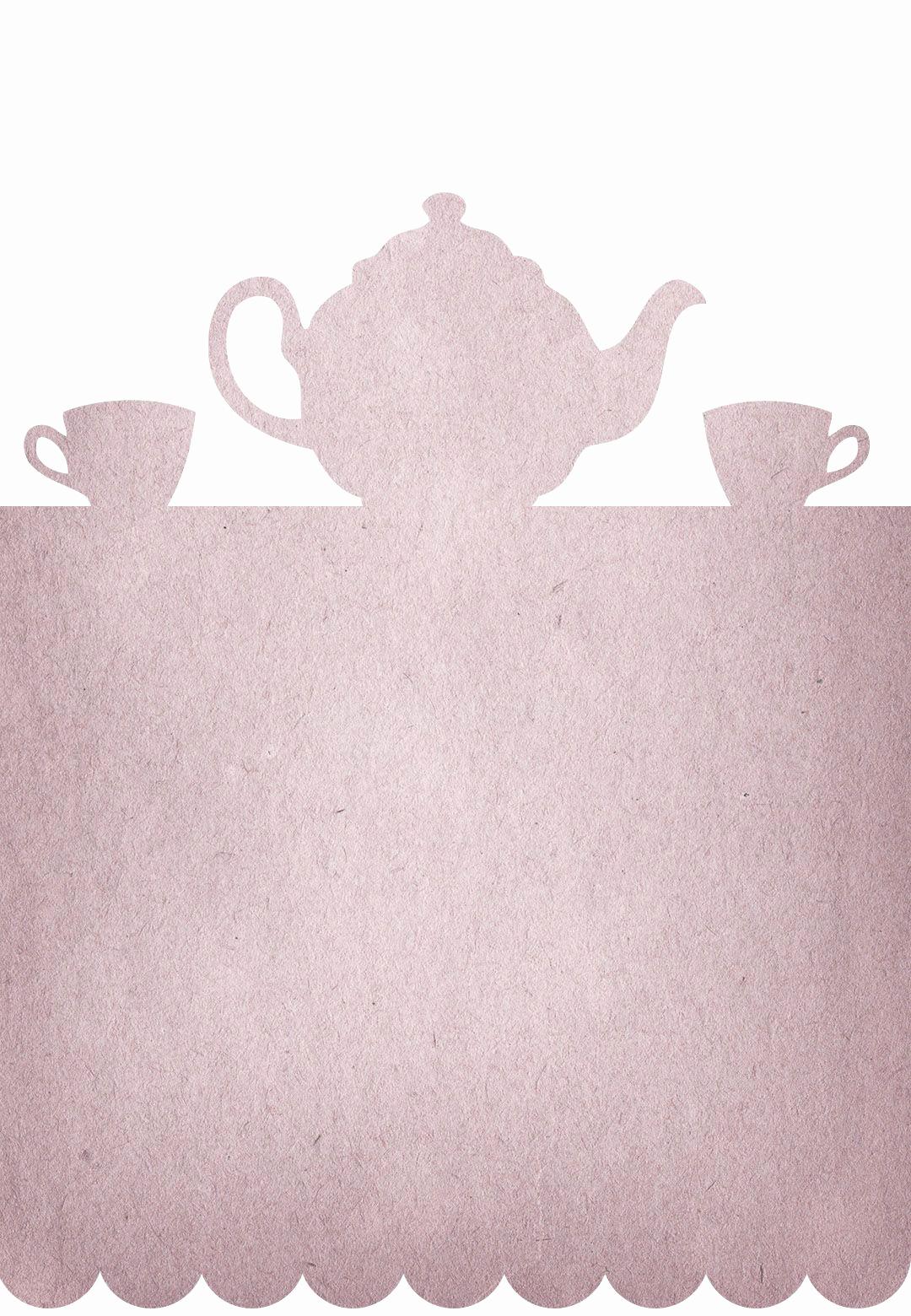 Hi Tea Invitation Templates Luxury Free Printable Tea Party Invitation
