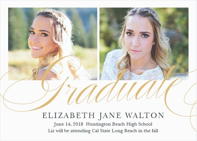 High School Graduation Ceremony Invitation Unique 2018 Graduation Announcements & Invitations for High