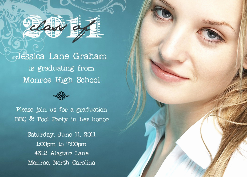 High School Graduation Ceremony Invitation Unique Graduation Announcements Wording Ideas Verses and Sayings