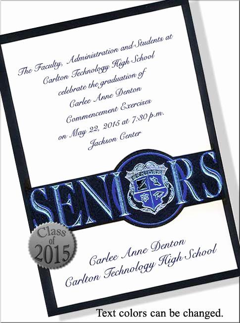 High School Graduation Ceremony Invitation Unique High School Graduation Invitations Wording