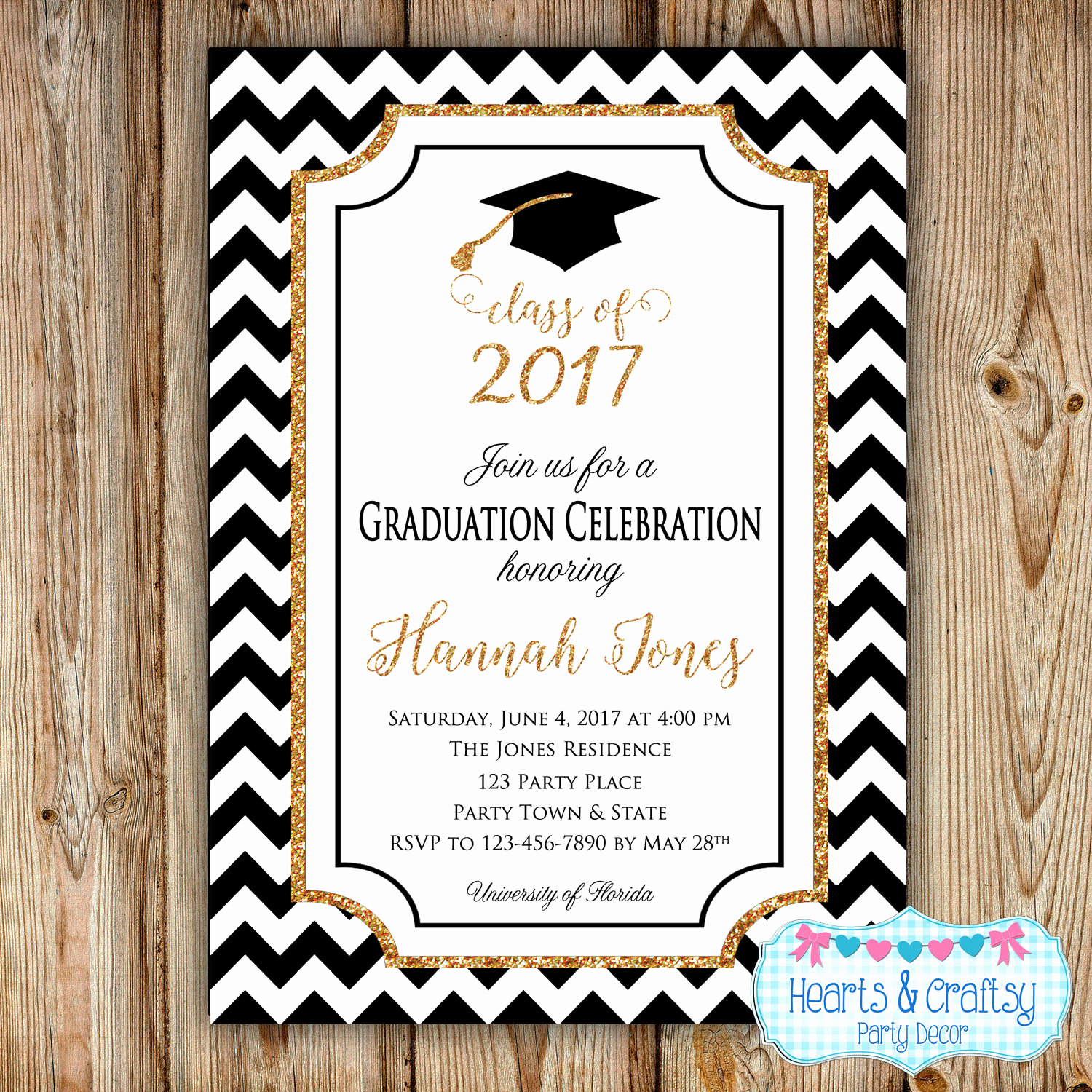 High School Graduation Invitation Awesome Graduation Party Invitation College Graduation Invitation