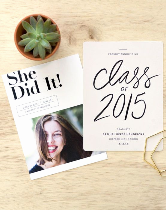 High School Graduation Invitation Best Of 1000 Ideas About Graduation Announcements On Pinterest