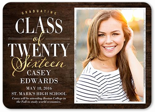 High School Graduation Invitation Cards Luxury Graduation Announcements Products