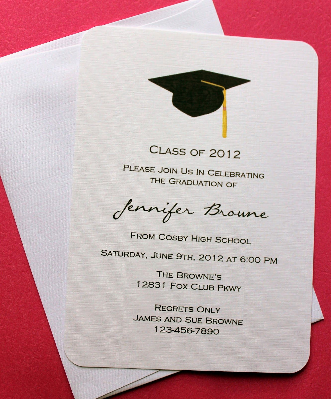 High School Graduation Invitation Cards New Collection Of Thousands Of Free Graduation Invitation