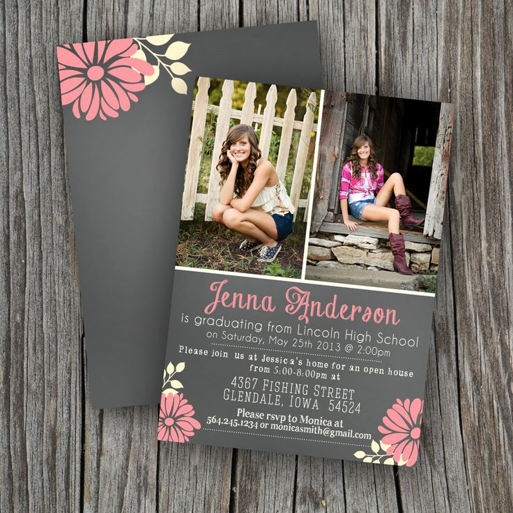 High School Graduation Invitation Cards New top 25 Best College Graduation Announcements Ideas On